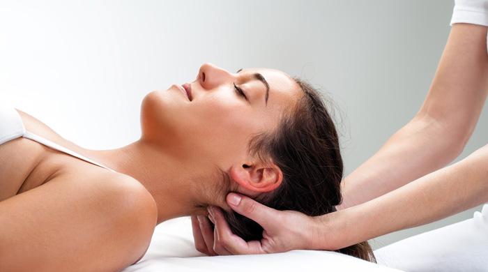 Shiatsu entspannende Massage