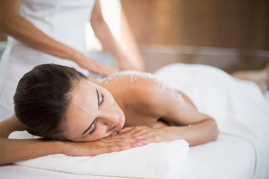 Über mich - Galerie - Salzpeeling-Massage